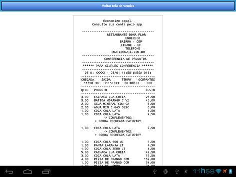 Comanda Eletrônica CLIENTES apk screenshot