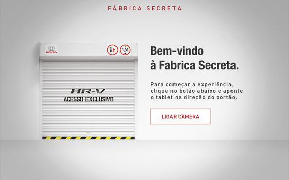 Honda HR-V Fábrica Secreta poster