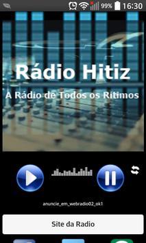 Rádio hitiz poster