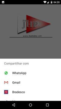 Radio JHP Brasil apk screenshot