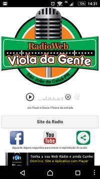 Radio viola da gente poster