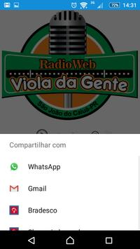 Radio viola da gente screenshot 2