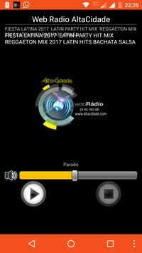 Web Radio AltaCidade poster