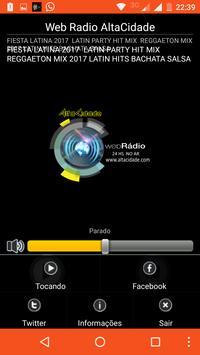 Web Radio AltaCidade apk screenshot