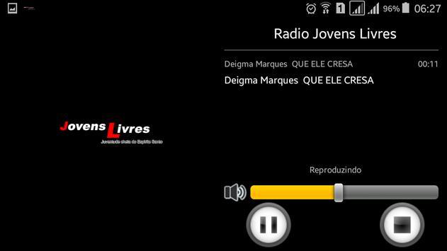 Radio Jovens Livres apk screenshot