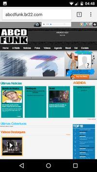 Radio Abcd Funk apk screenshot