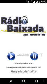 Rádio Baixada poster