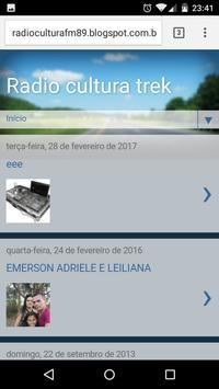 Radio Cultura Trek apk screenshot