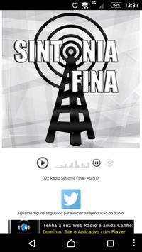 Radio Sintonia Fina poster