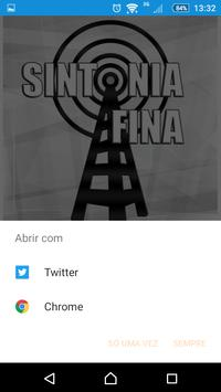 Radio Sintonia Fina apk screenshot
