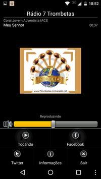 Rádio 7 Trombetas screenshot 1
