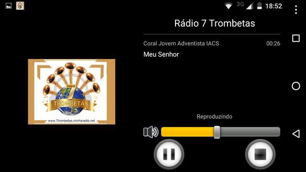 Rádio 7 Trombetas screenshot 2