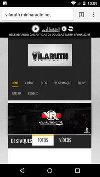 RadioVilaRuth apk screenshot