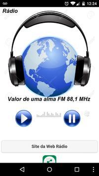 FM Valor de uma Alma 88.1 poster