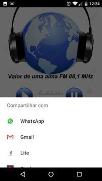FM Valor de uma Alma 88.1 screenshot 2