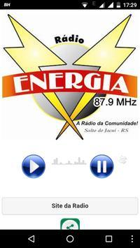 Radio Energia 87.9 poster