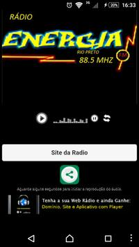 Radio Energia Rio Preto poster