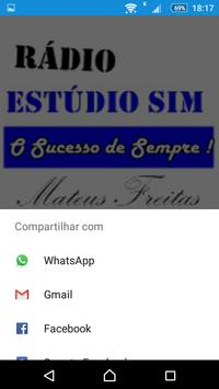 Rádio Estúdio SIM screenshot 1
