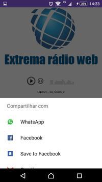 Extrema Rádio Web apk screenshot