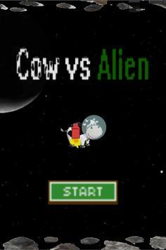 Cow vs Aliens poster