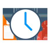 Abertura de horário icon