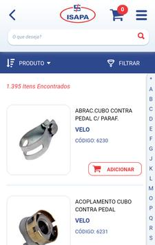 Isapa Bicicleta - Catálogo screenshot 1