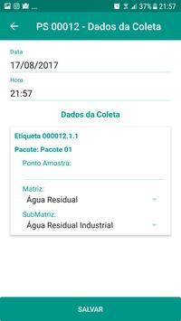 ultraLIMS - Coletas screenshot 2