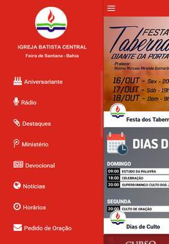 Igreja Batista Central Feira apk screenshot