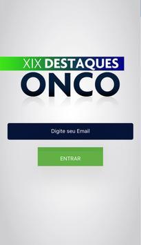 Destaques Onco poster