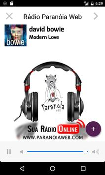 Radio Paranoia Web poster