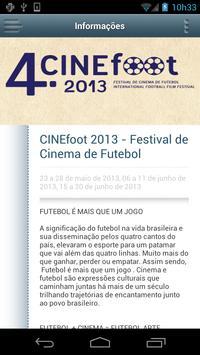 CINEfoot 2013 screenshot 2