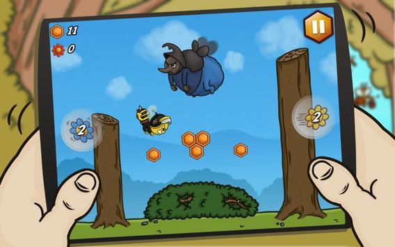Bee Avenger HD FREE captura de pantalla de la apk