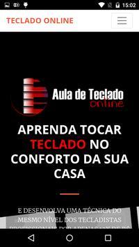 CURSO DE TECLADO ONLINE COM WILIAM SILVA screenshot 1