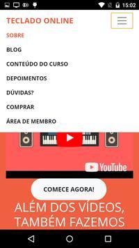 CURSO DE TECLADO ONLINE COM WILIAM SILVA screenshot 3