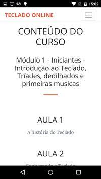 CURSO DE TECLADO ONLINE COM WILIAM SILVA screenshot 4