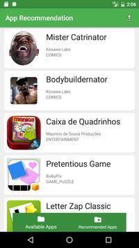 Recomendação de Apps poster