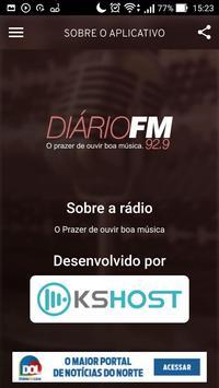 Rádio Diário FM 92,9 screenshot 4