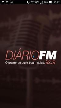 Rádio Diário FM 92,9 poster