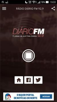 Rádio Diário FM 92,9 screenshot 1