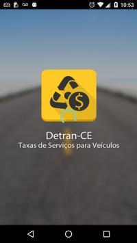 Detran CE Taxas para veículos poster