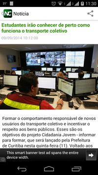 News Curitiba apk screenshot