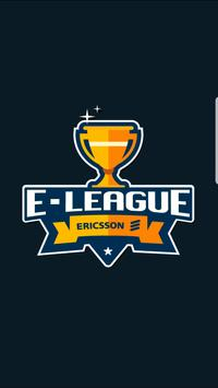 E-League Ericsson poster