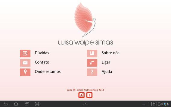 Luisa W. Simas Nutricionista screenshot 4