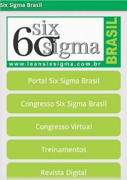 Six Sigma Brasil poster