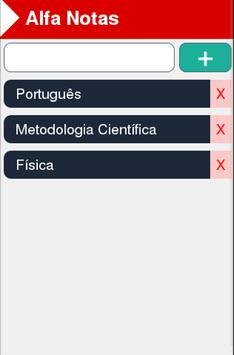 Alfa Notas screenshot 1