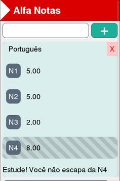 Alfa Notas screenshot 2