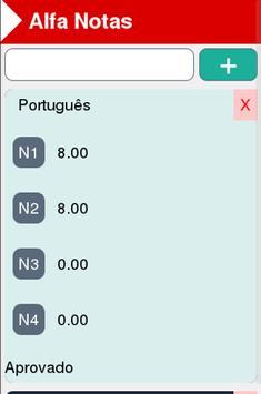 Alfa Notas screenshot 3