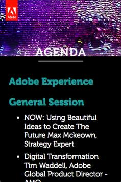 Evento Adobe Experience 2016 apk screenshot
