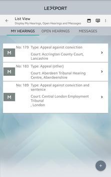 Lexport apk screenshot