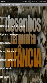 Aberturas Nostálgicas Sounds poster